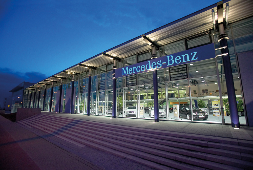 Mercedes Benz In Dortmund